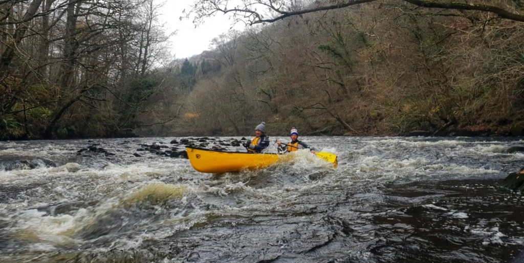 Canoeing in Noth East Wales