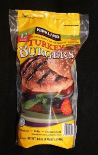 kirkland turkey burgers
