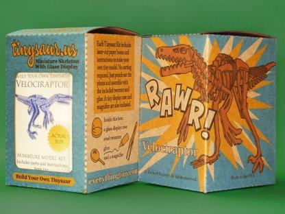 Velociraptor illustrated box