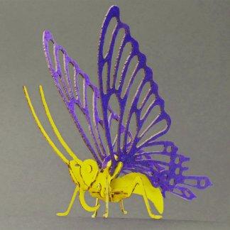 Butterfly bare bones miniature skeleton model by Tinysaur