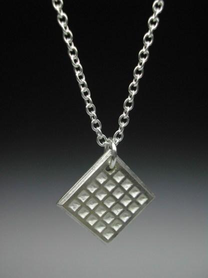Waffle Necklace