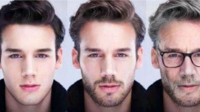 Aplicativo que muda o rosto