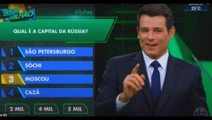 Show do Milhão - Celso Portiolli