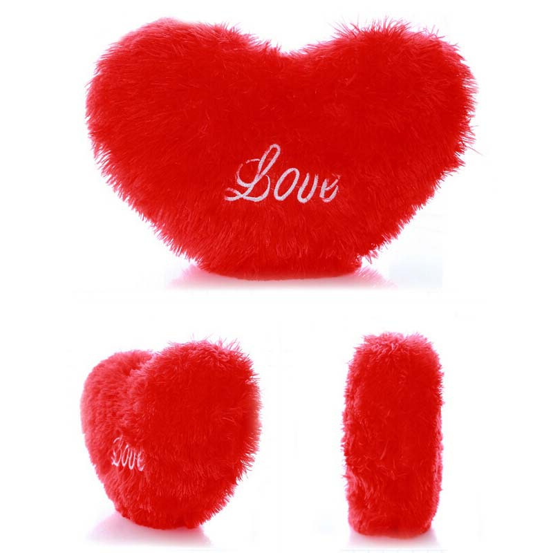 plush heart pillow cushion for your