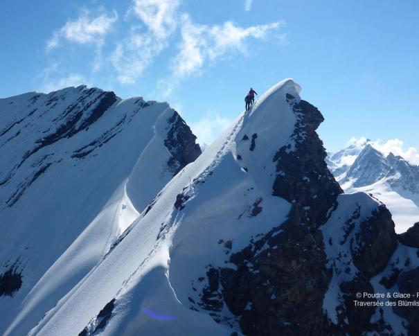 © Poudre & Glace - Rémi Vignon, alpinisme