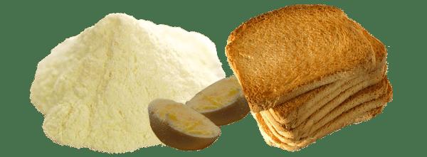 composants de l'alimentation bio des poussins