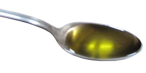 cuillérée d'huile de foie de morue