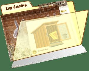 les fiches de la basses-cour bio - lapin