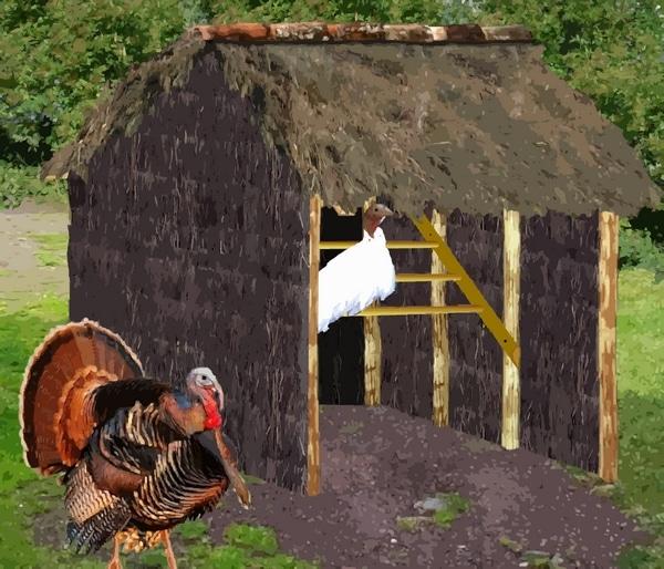 fabriquer une cabane pour oie