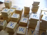 Scrabble photo, taken by Stigeridoo and licensed under Creative Commons