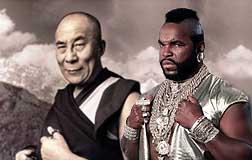 Dalai Lama and BA Baracas