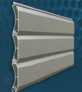 Ρολά ασφαλείας αλουμινίου διπλού τοιχώματος