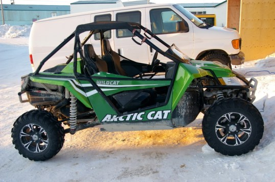 The ultimate ATV - the sports car of the Arctic