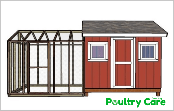 8 - 10 Large Chicken Coop