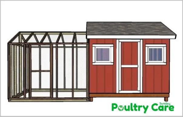 8 - 10 Large Chicken Coop