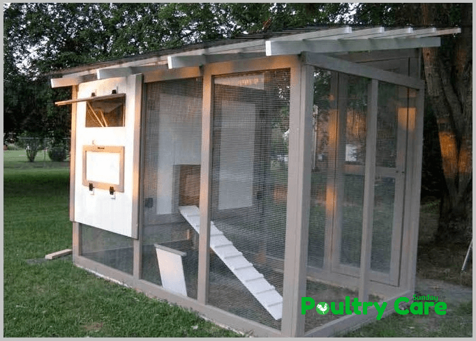 The Feather Factory Chicken Coop