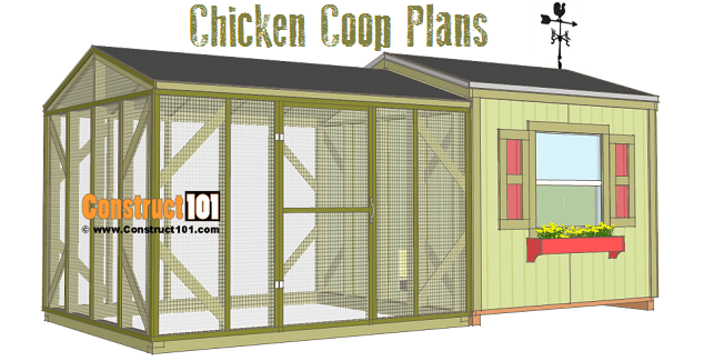 Garden Shed Chicken Coop