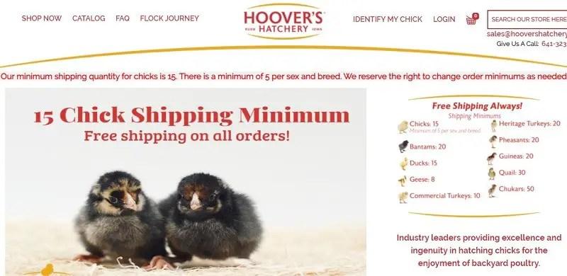 Hoovers Hatchery