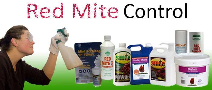 Red Mite Control