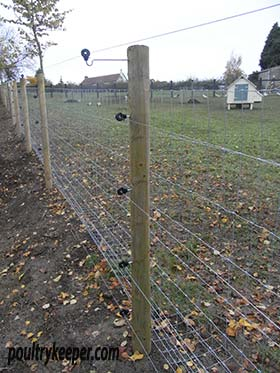 Electric Fence using Tundra Wire