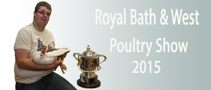 Bath and West Poultry Show 2015