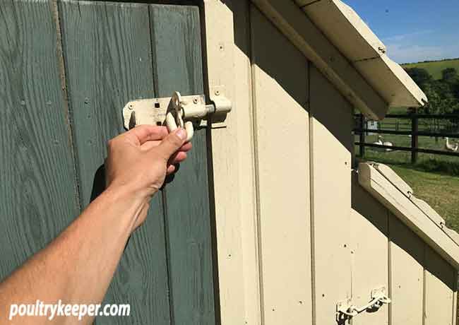 Secure Chicken House