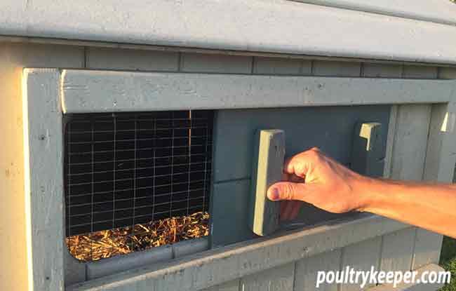 Chicken House Vent
