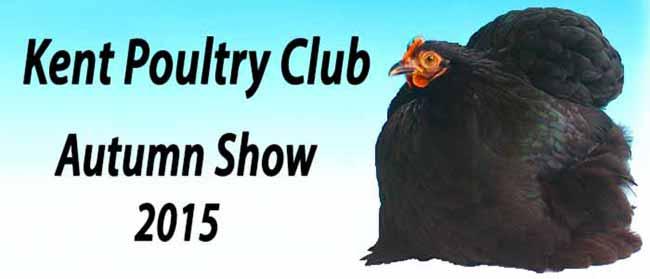 Kent Poultry Club Autumn Show 2015