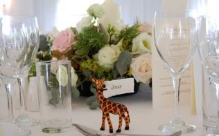 wedding-breakfast-detail-giraffe-poundon-house
