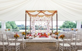 Asian-Wedding-Ceremony-Mandap-Marquee-Poundon-House-02