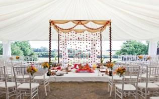 Asian-Wedding-Ceremony-Mandap-Marquee-Poundon-House-02