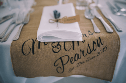 Plastic Free Wedding