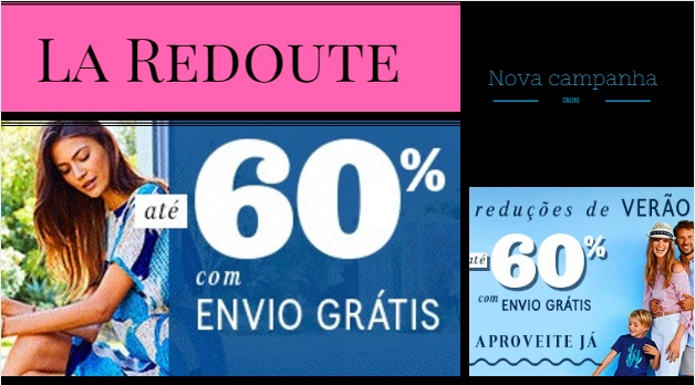 0f3f1e98215 La Redoute online até 60% reduções • Poupadinhos e Com Vales