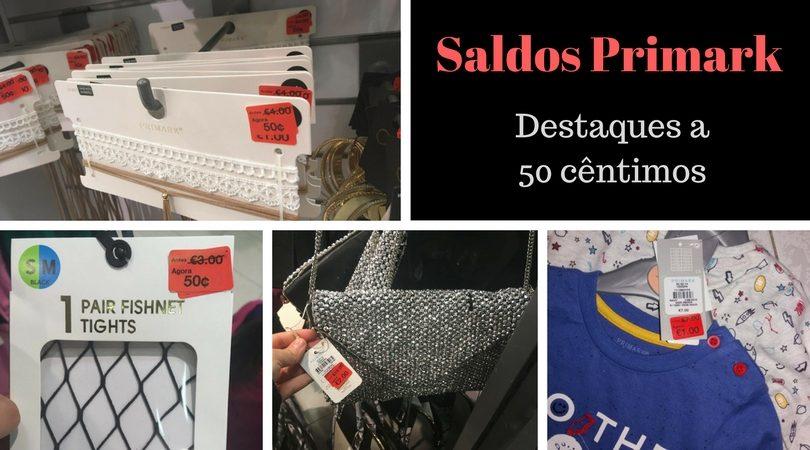 90030a7ed Saldos Primark roupa a 0,50€, sapatilhas a 2€ e muito mais!