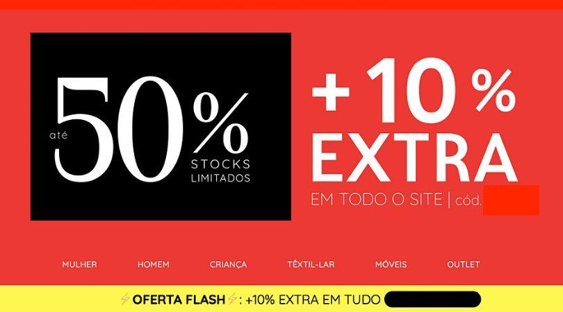 50cee43b2 La Redoute - 50% + 10% extra em todo o site • Poupadinhos e Com Vales