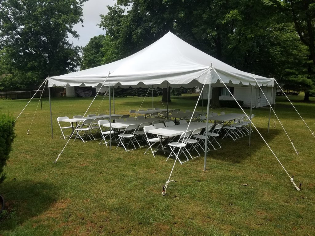 Tent And Chair Rentals Poupard Tent Rental Monroe Mi Party Tent Rental