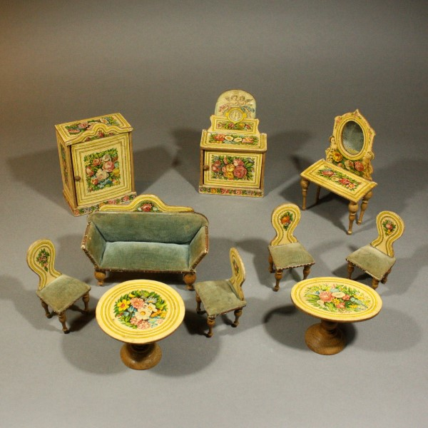 Le Petit Monde Des Maisons De Poupes Anciennes Achat