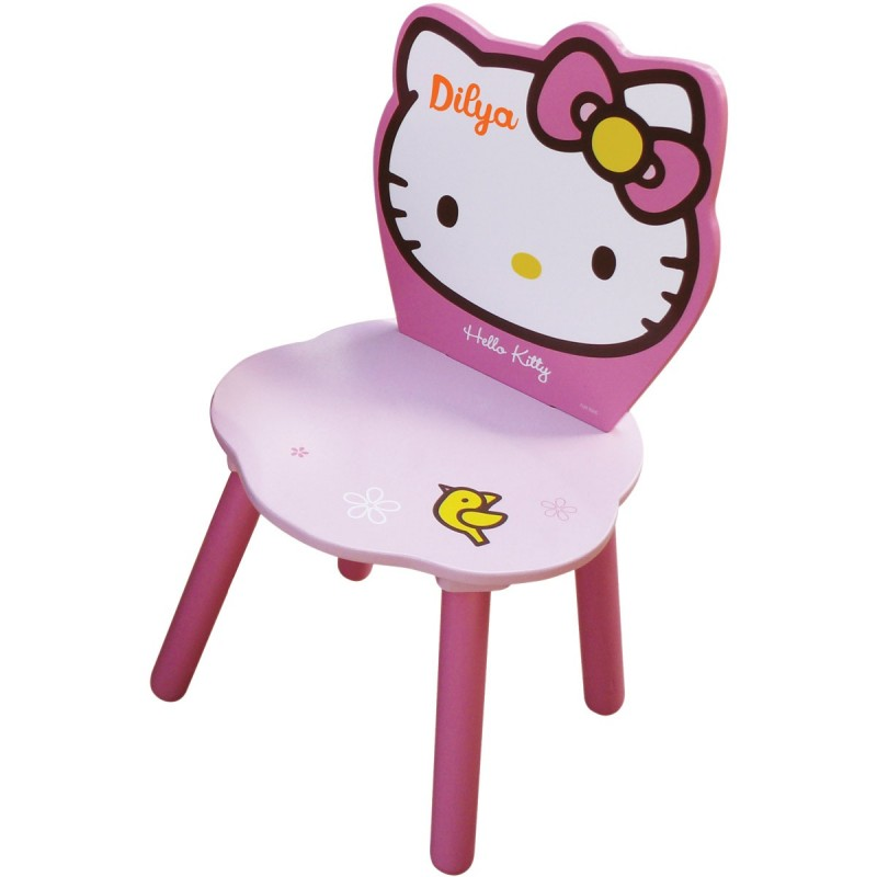 Chaise Enfant Personnalise Hello Kitty