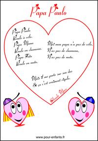 Date Fete Des Pere 2016 : POEMES, Fête, Pères, Imprimer, Poèmes, Humoristiques, Textes, PERES, Papas, Apprendre, Poesies