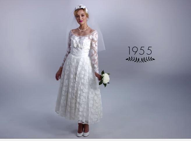 100 ans de robes de mariées