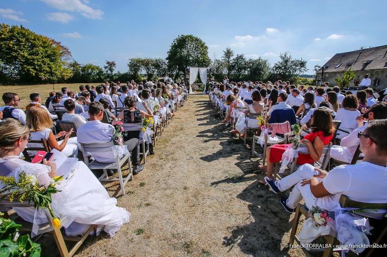 Décor de la cérémonie de Luigi et Antonin