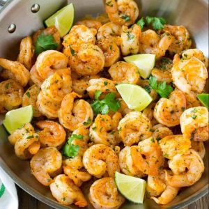 Cilantro Lime Shrimp