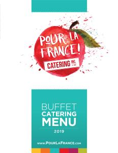 Buffet Catering Menu
