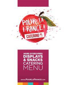 Hors D'oeuvres Displays & Snacks Catering Menu