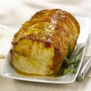 Sweet Heat Honey Mustard Pork Tenderloin