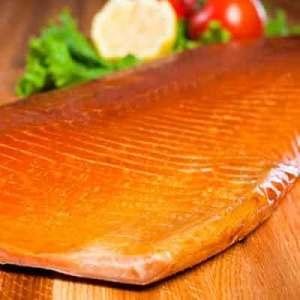 Smoked Salmon Display