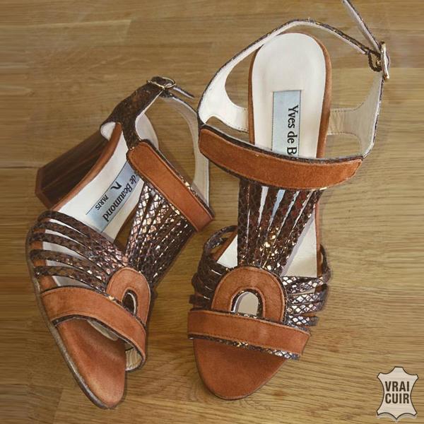 sandales tendance yves de beaumond