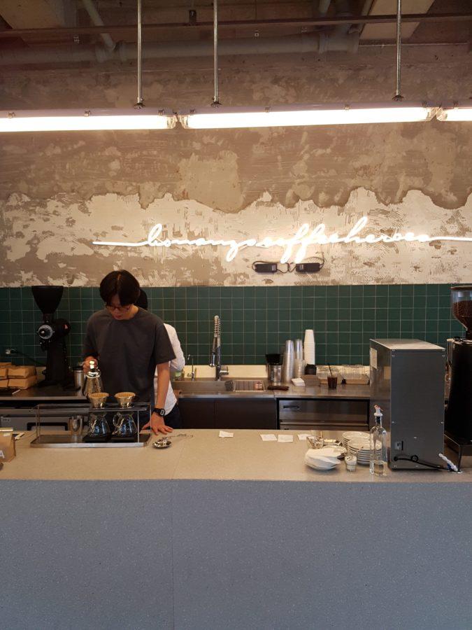 Bonanza Coffee - great design, ok coffee