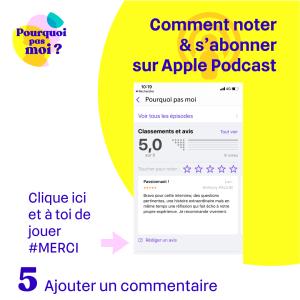 Ajouter un podcast sur apple podcasts