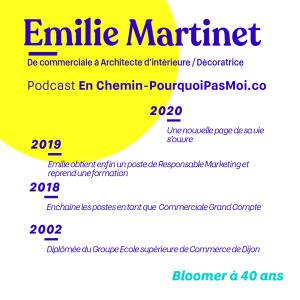 Podcast Emilie Martinet parcours